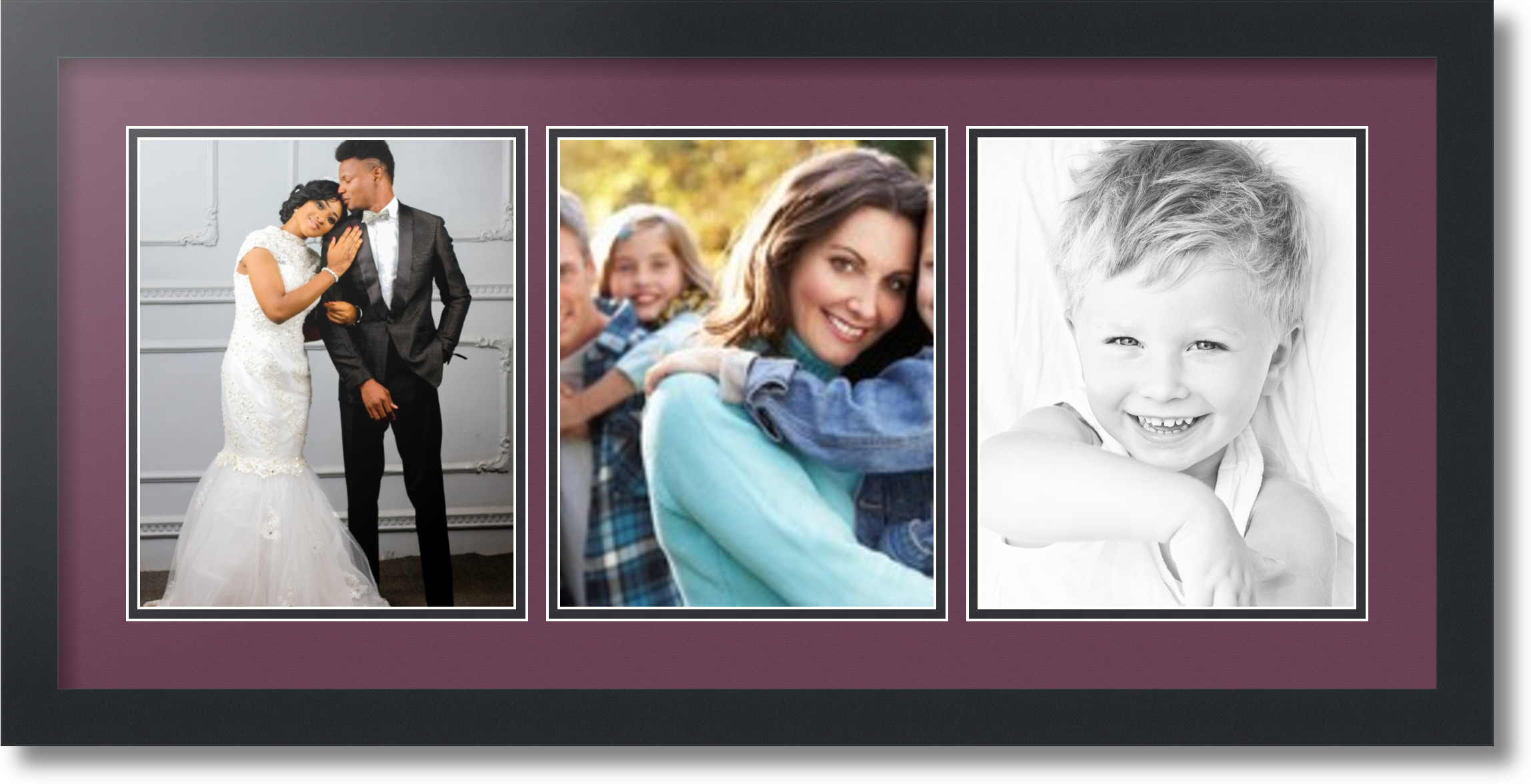 Magnificent Picture Frame 3 8x10 Gallery - Frame Photo Design Ideas ...