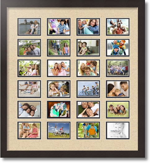 Picture Frame / Picture Frames Search / Collage Double Mat / 24 ...