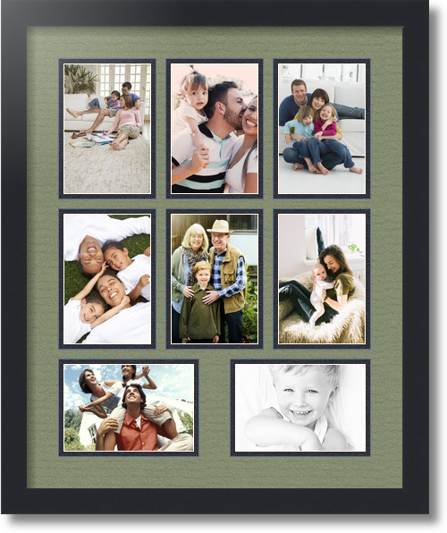 Picture Frame / Picture Frames Search / Collage Double Mat / 8 ...