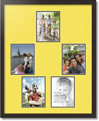 24x30 coffee collage picture frame 5 opening canary and