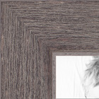 Gray Rustic Barnwood Collage Picture frame