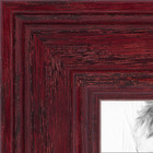 Cherry Stain on Solid Wood Collage Picture frame