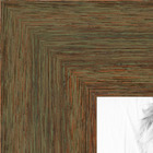 Distressed Silver Picture frame