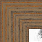 Maple Grain Distressed Frame Collage Picture frame