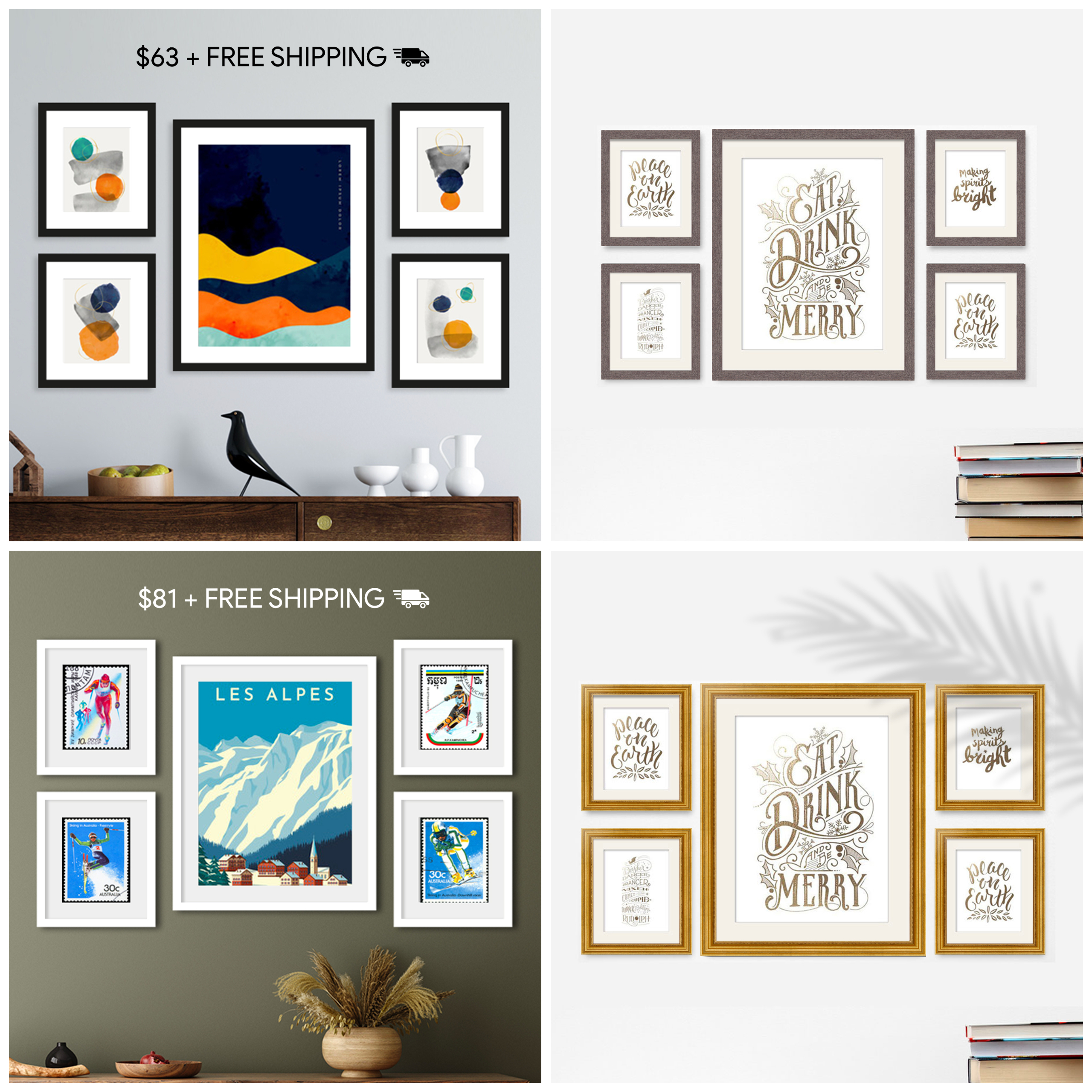Shop Our Most Affordable Gallery Wall Collection