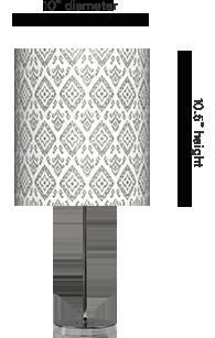 Custom table lamps customer printed lamp shades pendant lamps lampshade with base aloadofball Choice Image