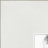 "ArtToFrames 1/"" Custom Poster Frame  Distressed White  4484 Large"